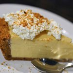 Key Lime Pie, roasted pecan crust - Bonefish Grill
