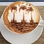 Taif's extraordinary cappuccino art!