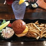 Fish Burger in Paradise