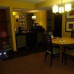kitchenette area room