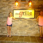 The Grill was a great restaurant with great food and even a Sushi bar.