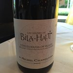 Wine choice Philippe recommended--excellent value also