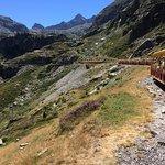 Le petit train du lac d'Artouste