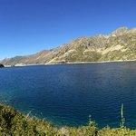 La lac d'Artouste (2000 m d'altitude)
