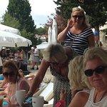 Hula hula beach bar Foto