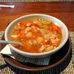 Chicken faro soup
