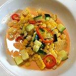 Loved this corn, zucchini, chili salad!