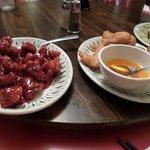 deux des plats