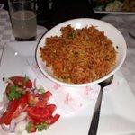 Delicious pilau rice