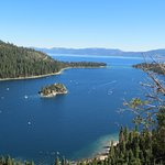 Beautiful Emerald Bay well worth staying at the Lake Tahoe Vacation Resort
