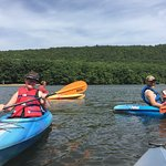 Incredible time on Locust Lake kayaking with friends.