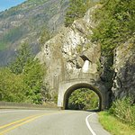 Tunnel along North Cascades Highway