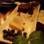 Chocolate cake desert