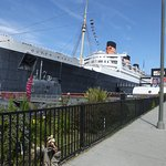 Wylie at the Queen Mary