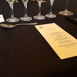wine pairing for each course