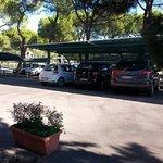 Ottimo parcheggio interno