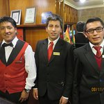 Front Desk David, Jhon, and ??/