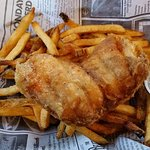 (cat)fish and chips: very fresh!