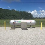 Propane on site