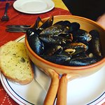 Mussels were a hit