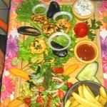 king prawn seafood dish.....amazing