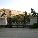 Sculture gemelle a quelle si San Pietroburgo, dono dello zal Nicola I