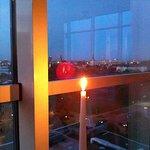 Vue depuis le restaurant Bellevue au onzième étage