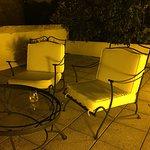 private terrace for Clos Les Lunelles