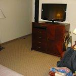 Habitación no muy grande pero cómoda