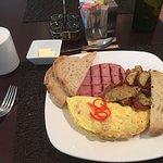 A la carte breakfast.