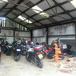 Motorcycle Parking )