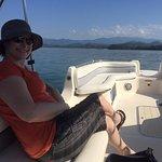 Beautiful day, beautiful wife, beautiful boat....