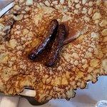 Finnish Pancakes with Sausage