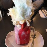 Strawberry shortcake freak shake