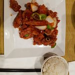 Cr3  Sweet and sour rib (hong kong style) 13.95  C10  Chicken and duck congee 7.00  Cr3  Sweet a