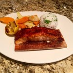 Cedar Plank Norwegian Salmon (Fall 2016)