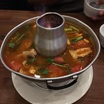 tom yum fire bowl soup