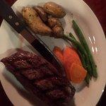 Dunraven fabulous steak in July
