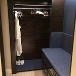Separate dressing area