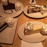 If you love cheesecake... Then this is the place to go.