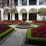 Los jardines del Museo
