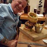 Brian & his mega Burger