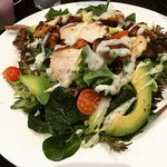 Cajun chicken salad , beautiful and delicious. Great food great service