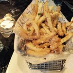 Truffle French Fries. I think it my 1st time ever to be SO impressed with french fries!