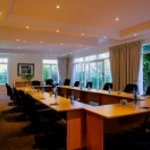 40 seater conference room with natural light