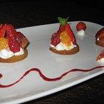 Tartelettes aux fraise Chantilly à la Liqueur de Combier
