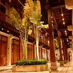 Impressive internal courtyard