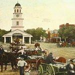 Historic Postcard of the Central Market (public domain photo)