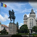 Targu Mures central area