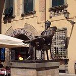 Piazza Cittadella & Puccini's statue